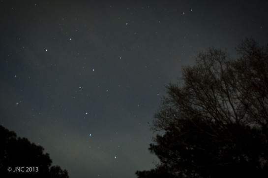 18mm, f/3.5, 30 sec exposure